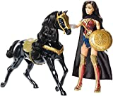 Mattel- DC Comics Wonder Woman con Cavallo, Colore Colorata, FDF44