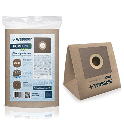 Wessper Sacchetti per aspirapolvere GORENJE DISCO VCEB28DBKO (5 pezzi, carta)