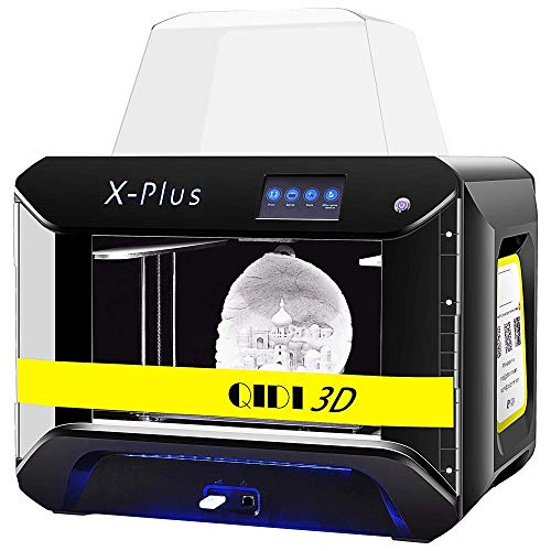 QIDI TECH Large Size Intelligent Industrial Grade 3D Printer New Model:X-Plus,WiFi Function,High...