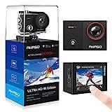 AKASO Caméra Sport 4K WiFi Caméra d'action avec Ecran Tactile Ultra HD,...