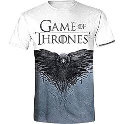 Juego de Tronos Raven Camiseta estampado S
