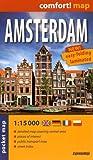 Amsterdam, plano callejero plastificado de bolsillo. Escala 1:15.000. ExpressMap. (Comfort ! Map)