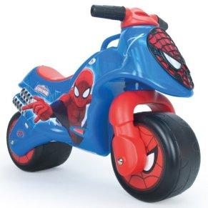 INJUSA - Marvel Moto Correpasillos Neox Spiderman para Bebés de 18 Meses con Decoración Permanente IML y Asa de…
