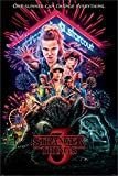 Stranger Things Poster Strangers Things, Non Laminato, Multicolore, 61 X 91.5 Cm