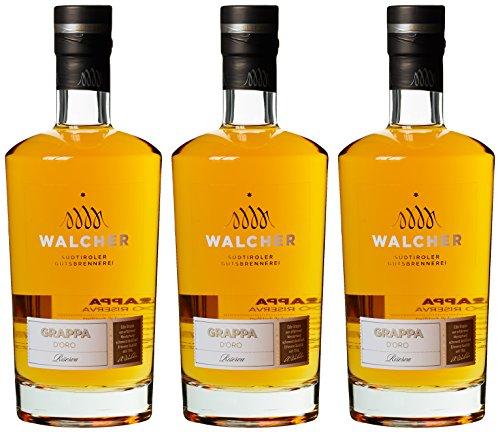 Walcher Grappa d\'Oro (3 x 0.7 l)