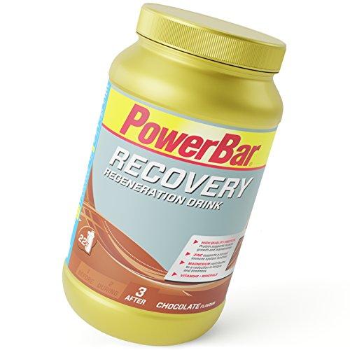 PowerBar Recovery Regeneración Drink, Sabor Chocolate - 1210 gr
