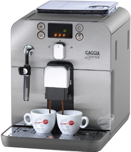 Gaggia Brera water filter bean-to-cup coffee device bundle (stainless steel) (2 months of Brita Intenza+) (1 cartridge)
