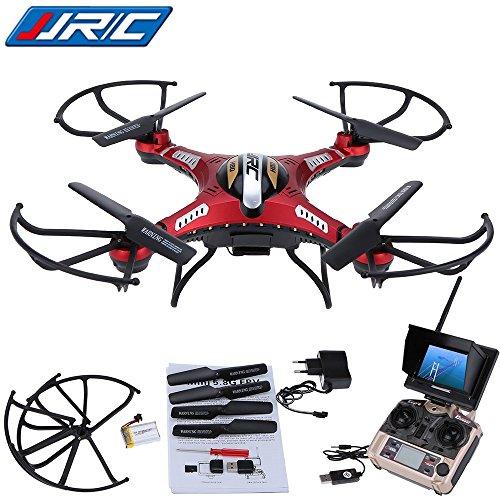 WayIn JJRC H8D RC Quadcopter elicottero Drone con trasmettitore FPV Monitor di trasporto Real Time...