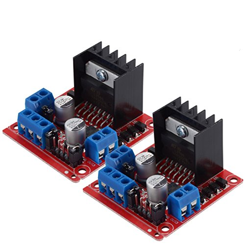 Perché scegliere pchero Motor Drive controller board moduld? ragione 1: uso l298N per chip principale l298N è un tipo di motore ad alta tensione, alta corrente chip driver. avere 15pin come Package, il chip possiede tali caratteristiche a...