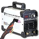 STAHLWERK CUT 40 ST IGBT Plasmaschneider mit 40 Ampere, bis 10 mm Schneidleistung, für Lackierte Bleche & Flugrost geeignet, 5 Jahre Herstellergarantie*