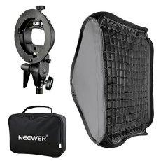"Neewer 32""x32""/80x80cm Difusor Softbox de rejilla de nido de abeja para flash con soporte tipo S y bolsa para Nikon SB-600, SB-800, SB-900, SB-910, Canon 380EX, 430EXII, 550EX, 580EX II, 600EX-RT, Speedlite Neewer TT560"