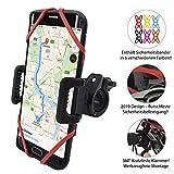TruActive Premium Ausgabe Universal Handyhalterung Fahrrad für 4,0-6,5 Zoll Smartphone, 360° Drehbar
