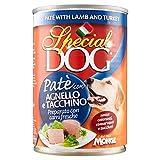 Special Dog - Paté, con Agnello e Tacchino - 24 pezzi da 400 g [9600 g]