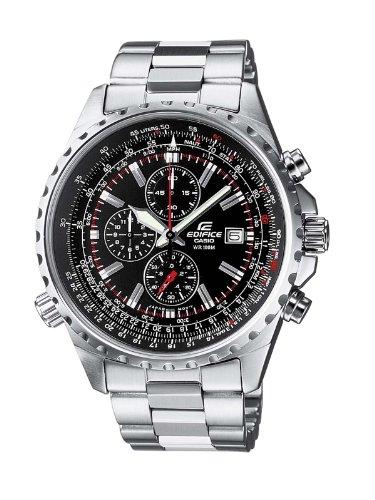 Casio Orologio Cronografo Quarzo Uomo con Cinturino in Acciaio Inox EF-527D-1AVEF