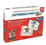 J'apprends l'anglais autrement - Niveau débutant: 80 cartes mentales pour apprendre facilement le vocabulaire, la conjugaison et la grammaire anglaise