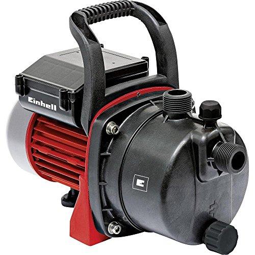 Einhell 4180280 Bomba de agua de trasvase GC-GP 6538, capacidad 3800 l/h, presión 3.6 bar, 650 W, 220 - 240 V, color rojo y negro