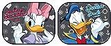 Disney 27024 - 2 cortinillas parasol Daisy y Donald Duck