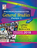 Spectrum's Handbook for General Studies Paper 1- Edition 2018