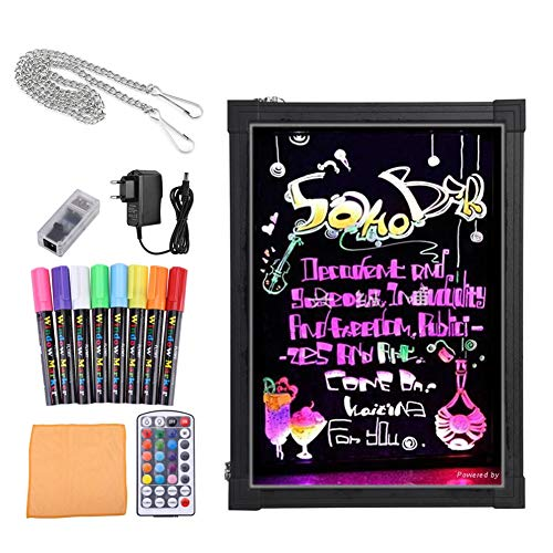 Bordo di scrittura del messaggio del LED,Lavagna Luminosa a Led Disegno Tavoletta LCD Writing Tablet...