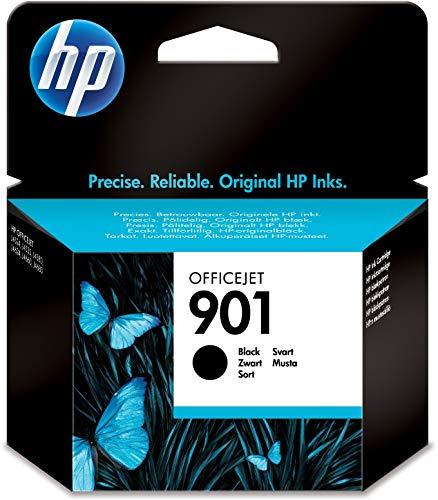 HP 901 CC653AE, Cartuccia Originale per Stampanti HP a Getto di Inchiostro, Compatibile con...