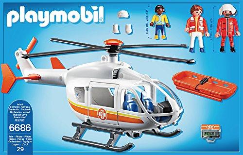 PLAYMOBIL 6686 – Rettungshelikopter - 3