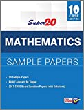Super 20 Mathematics Sample Papers Class 10th CBSE 2017-18