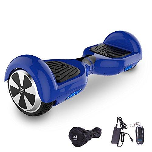 Cool&Fun Hover Board 6,5 Pouces Smart Scooter Skateboard Électrique Gyropode 2x350W de Boutique GyroGeek (Bleu)