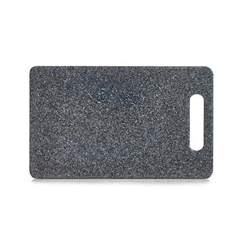 planche d couper avec poign e en plastique plateau aspect granite tranchierbrett en 3 tailles. Black Bedroom Furniture Sets. Home Design Ideas