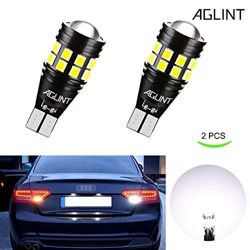 AGLINT 2X T15 W16W LED Lampadina CANBUS Nessuna Polarità 3030 22SMD Estremamente Luminoso Auto Luce...