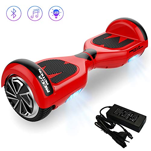 Mega Motion Hoverboard Self Balance Scooter Elettrico E1-6.5'Elettrico Segway - Bluetooth -...