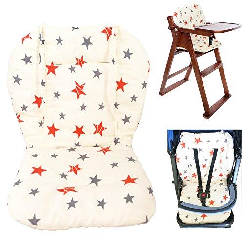 Passeggino/Auto/Seggiolone Fodera per cuscino Fodera per tappetino Copertura protettiva Traspirante (stella)