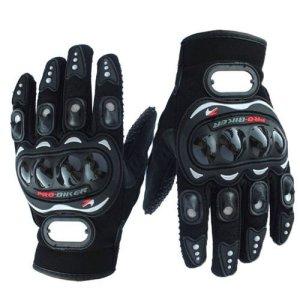 3b96272e Bike/Motorcycle Riding Gloves (Black, ...