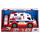 Dickie 203308360 Toy Ambulance with Light and Sound