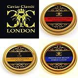 Trio Classico di Caviale.3 x 30 gr. consegna 1-2 giorno