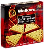 Walkers Shortbread Petticoat Tail Shortbread (Pack of 3)