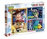 Clementoni Supercolor 25242 Puzzle-Toy Story - Juego de 4 Cajas de 48 Piezas, Multicolor