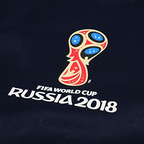 t shirt france femme world cup fifa 2018 coupe du monde 2018 bleu marine organise ta f te au. Black Bedroom Furniture Sets. Home Design Ideas