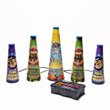 Uncle Milton 2451 Fireworks Show Grand Finale Light Projector, Multi-Colored