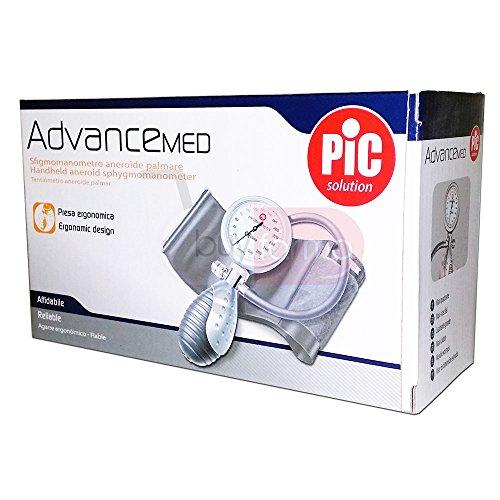 Pic Advance Med - Sfigmomanometro Aneroide Palmare - Affidabile Sicuro e Preciso