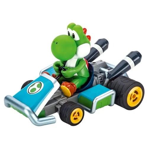 Carrera RC - Mario Kart 7: Yoshi, coche con radiocontrol, escala 1:16 (Carrera 162061)