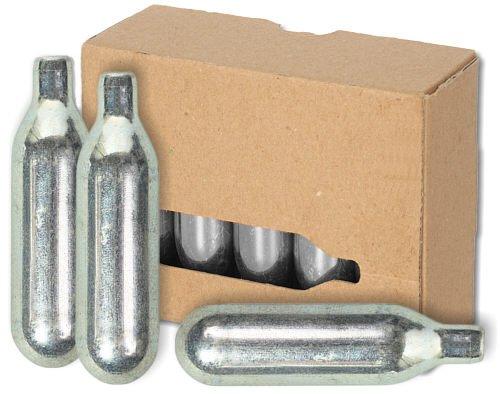 2 confezioni da 10 capsule di Co2 per spillatrici da 16 g per spillatori come Biermaxx Zapfprofi e...