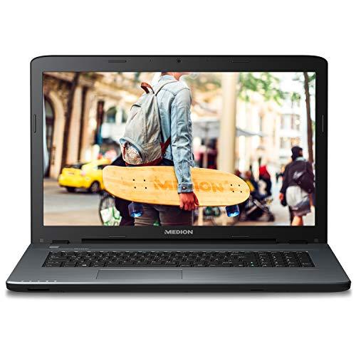 MEDION P7653 43,9cm (17,3 Zoll) Full HD Notebook (Intel Core i5-8250U, 1,5TB HDD, 128GB SSD, 8GB RAM DDR4, NVIDIA GeForce MX130, Win 10 Home)