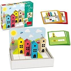 Goula- Construcción Madera Ciudad 14 pzas Puzzle Logic City (50200)