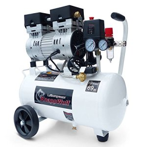 """KnappWulf Kompressor""""mucksmäuschenstill"""" Modell KW1024 Airbrush 69dB 3"""