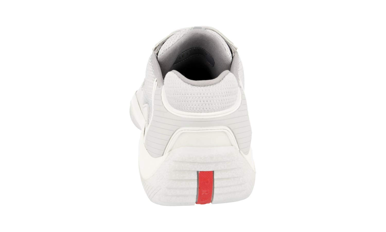 68ebe473c8a80 Prada Men's 4E3215 Leather Trainers/Sneaker