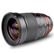 Walimex pro 35 mm f:1.4 - Objetivo para Sony/Minolta (Diámetro: 77 mm), negro