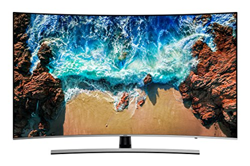 Samsung NU8509 138 cm (55 Zoll) Curved LED Fernseher (Ultra HD, Twin Tuner, HDR Extreme, Smart TV)