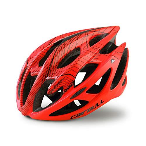 Cairbull Adulto Hombres Mujeres Bicicleta de Montaña Casco de Ciclismo La Seguridad Al Aire Libre Multiuso Cascos