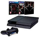 Pack PS4 500 Go + Metal Gear Solid V : The Phantom Pain + Call of Duty : Black Ops III + Steelbook
