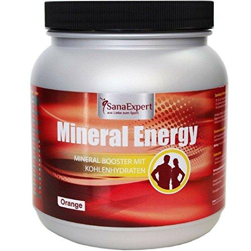 SanaExpert Mineral Energy, Energy Drink Isotonico, Sali Minerali e Vitamine per lo Sport, Polvere, 1100g